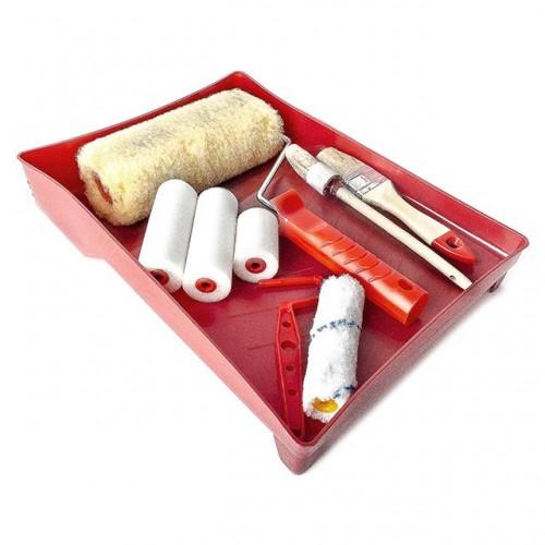 Набор малярный 10 предметов INTERTOOL KT-3010  , KT-3010