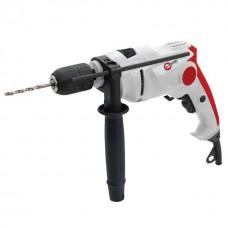 Дрель ударная, 650Вт, 0-3000об/мин, 1.5-13мм, реверсионная, самозажимной патрон INTERTOOL DT-0116