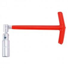 Свечной ключ Т-образный с шарниром 21х250 мм INTERTOOL HT-1722
