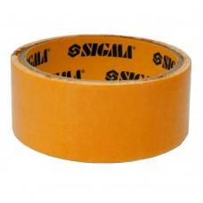 Скотч Двухсторонний на полипропиленовой основе 38ммх25м SIGMA