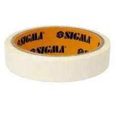 Лента малярная 48мм,20м белая SIGMA