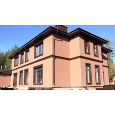 Мокрый фасад: эстетика и тепло для частного дома