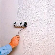 Фактурная краска для декорирования стен дома