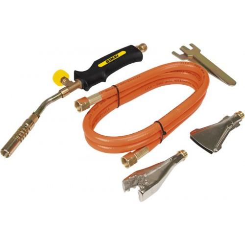 Горелка для пайки + насадки 1200-1850 градусов тепловая мощность 2кВт SIGMA, 2902161, Горелки