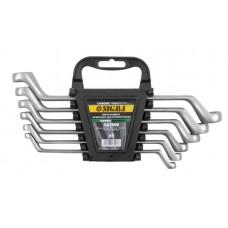 Ключи накидные 6шт 6-17мм CrV satine
