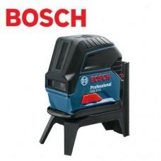 Лазерный нивелир (уровень) с функцией отвеса в комплекте со штативом RM1 Bosch GCL 2-15 Professional  (0601066E00)