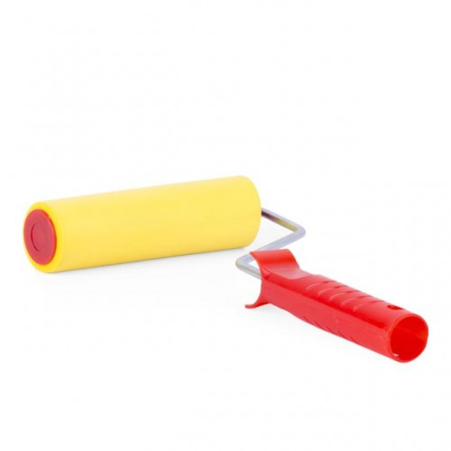 Валик прижимной обойный 40*150*6 мм с ручкой INTERTOOL KT-0017 , KT-0017