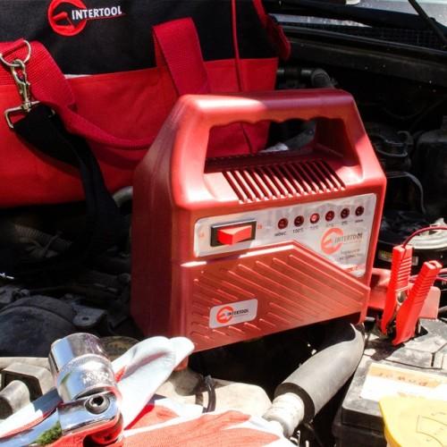 Автомобильное зарядное устройство для АКБ INTERTOOL AT-3012, AT-3012, Устройства зарядные для АКБ