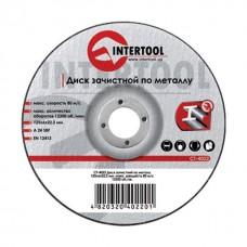 Диск зачистной по металлу 115x6x22,2 мм INTERTOOL CT-4021