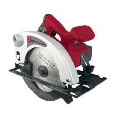 Пила дисковая, 1200 Вт, 4500 об/мин, угол 90-45°, глубина распила 63/38 мм, d=20 мм x 185 мм INTERTOOL DT-0612