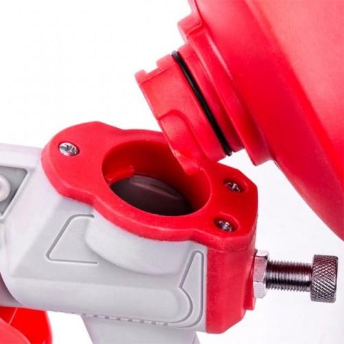 Пистолет покрасочный электрический HVLP 450 Вт, форсунка 1,5 мм, бачок 1 л; 0,14-0,35 Бар, 100-200 мл/мин INTERTOOL DT-5045, DT-5045, Краскопульты электрические