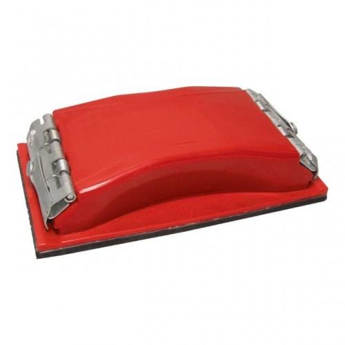 Брусок для шлифования 85x165 мм, металлический зажим для быстрой и надежной фиксации INTERTOOL HT-0001, HT-0001, Бруски шлифовальные