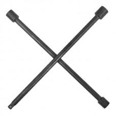 """Ключ баллонный крестовой 16""""x 406мм, D=16 мм, 17; 19; 21; 1/2""""профессионал INTERTOOL HT-1603"""