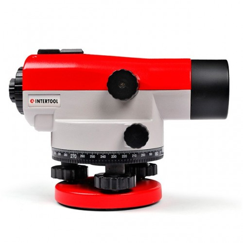 Оптический нивелир 20-кратное увеличение INTERTOOL MT-3010, MT-3010, Нивелиры оптические