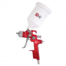 HVLP RED PROF Краскораспылитель 1,4 мм, верхний пластиковый бачок 600 мл INTERTOOL PT-0104