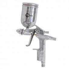 Пистолет покрасочный пневматический мини, форсунка 0,5 мм, В/Б, 200 мл, 3,5-5 бар INTERTOOL PT-0303