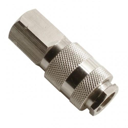Быстроразъемное соединение с внутренней резьбой 1/4, PT-1804, Фитинги для пневмосистем