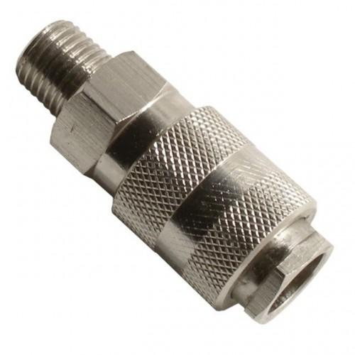 Быстроразъемное соединение с наружной резьбой 1/4, PT-1805, Фитинги для пневмосистем