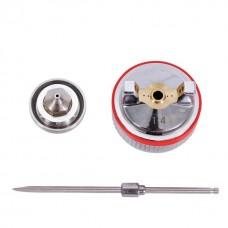 Комплект форсунок HVLP II 1,4 мм к пистолетам PT-0100, PT-0105 INTERTOOL PT-2114