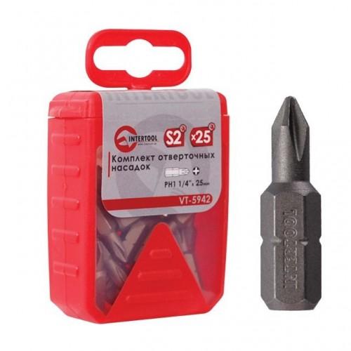 Комплект отверточных насадок PH1 1/4 в интернет магазине ToolStore