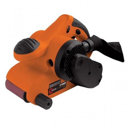 Шлифмашина ленточная STORM 950 Вт, 120-380 м/мин, 76x533 мм INTERTOOL WT-0530, WT-0530, Шлифмашины ленточные