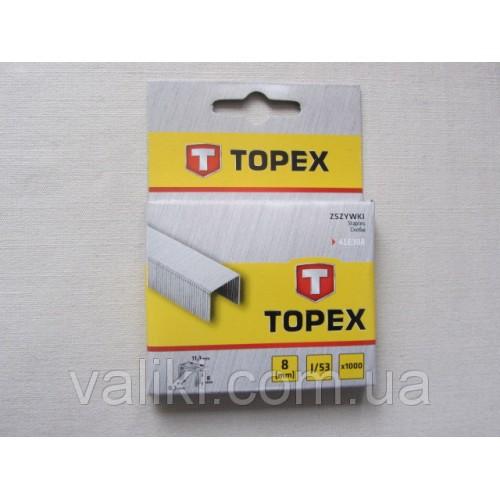 Скоба для степлера | 8 мм Topex, Скоба для степлера | 8 мм Topex, Степлеры и скобы