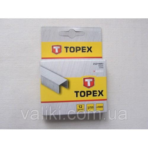 Скоба для степлера | 12 мм Topex, Скоба для степлера | 12 мм Topex, Степлеры и скобы