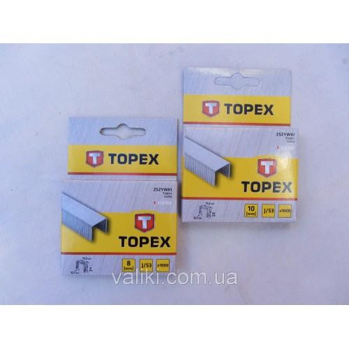 Скоба для степлера | 10 мм Topex, Скоба для степлера | 10 мм Topex, Степлеры и скобы
