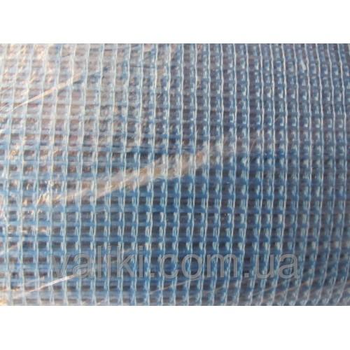 Сетка фасадная синяя | 1м/50м | пл.140г/м2, Сетка фасадная синяя | 1м/50м | пл.140г/м2