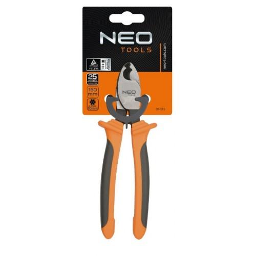 Кабелерез для медных и алюминиевых кабелей 200 мм до 13 мм NEO-TOOLS