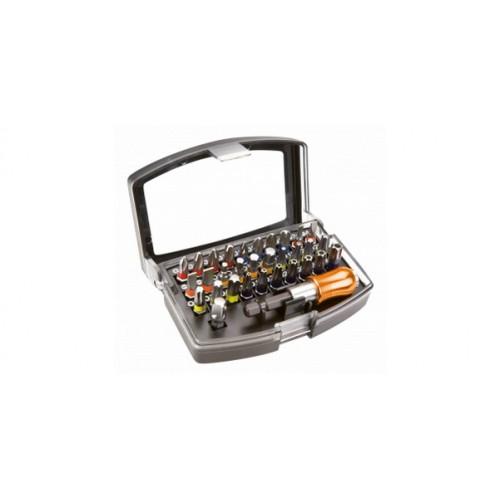 """Набор бит с адаптером-держателем 1/4"""" 32 штуки NEO-TOOLS в интернет магазине ToolStore"""