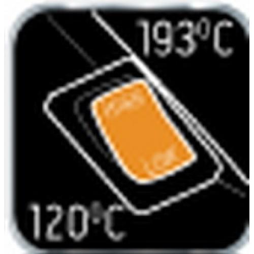 Пистолет термоклеевой с регулировкой температуры 11.2 мм 80 Ватт NEO-TOOLS