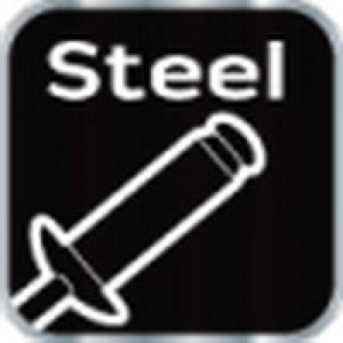 Заклепочник 280 мм с поворотной головкой 360 градусов для стальных и алюминиевых заклепок PROFI (2.4-3.2-4.0-4.8 мм) NEO-TOOLS