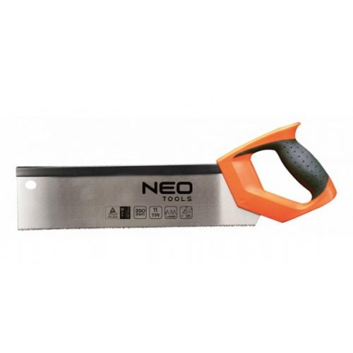 Ножовка пасовочная 350 мм 11TPI NEO-TOOLS