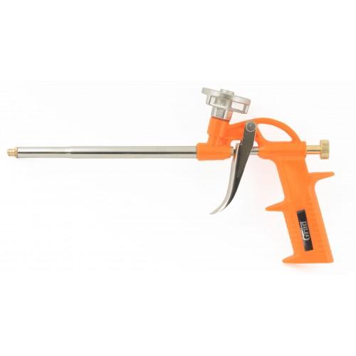 Пистолет для полиуретановой пены GRAD Standart 290 мм пластмассовый корпус, 2722215