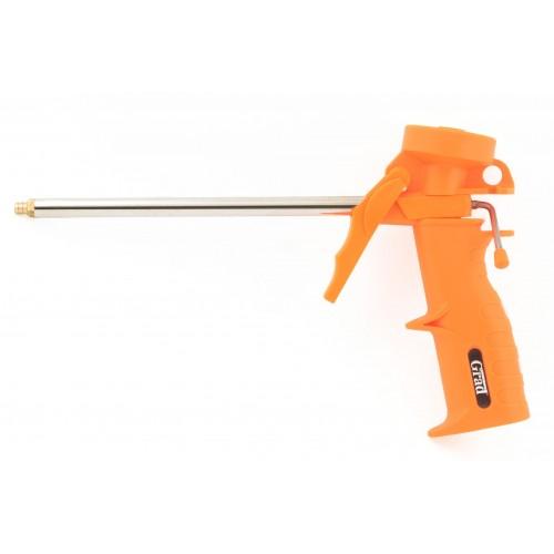 Пистолет для полиуретановой пены GRAD Standart 150 мм пластмассовый корпус, 2722225