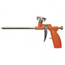 Пистолет для полиуретановой пены 290 мм в пластмассовом корпусе с алюминиевым адаптером Grad