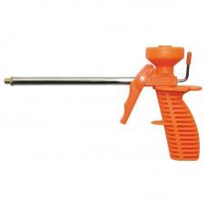 Пистолет для полиуретановой пены 160мм в пластмассовом корпусе Grad