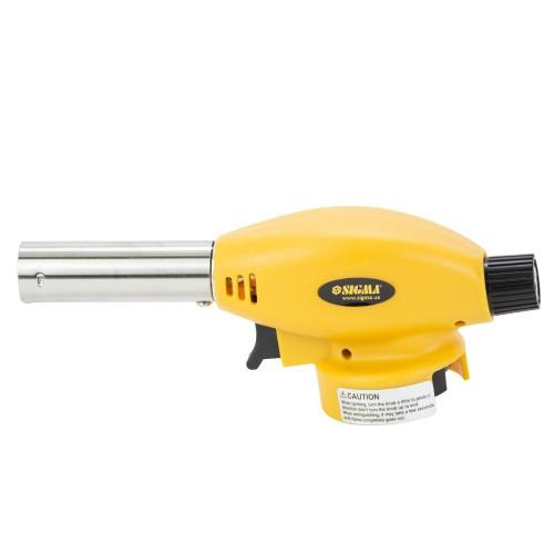 Горелка газовая с пьезоподжигом 80 г/час до 1300°C Sigma (2901411)