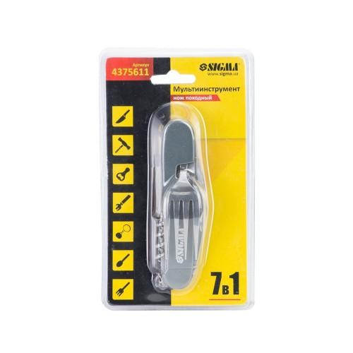 Мультиинструмент нож походный 7в1 Sigma (4375611)