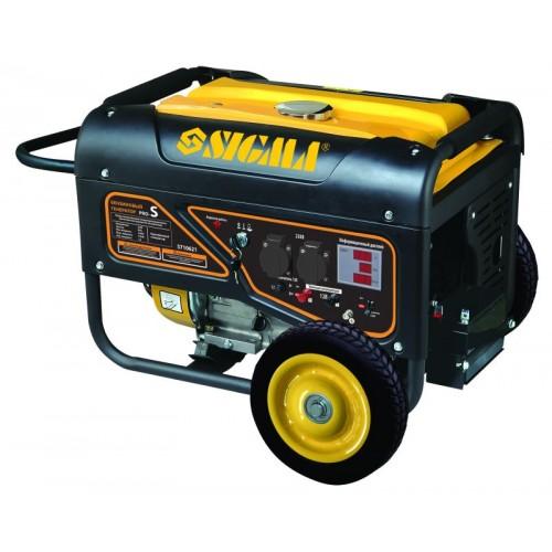 генератор бензиновый 5.0/5.5кВт 4-х тактный электрозапуск Pro-S, 5710621, Бензиновые