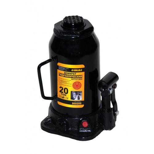 Домкрат гидравлический бутылочный 2тонны 181-345мм (кейс) SIGMA, 6102021