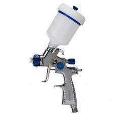 Краскораспылитель LVMP 0.8мм 30-115л/мин 1.5Бар с верхним пластиковым бачком 100мл алюминиевый корпус Refine (6814191) SIGMA