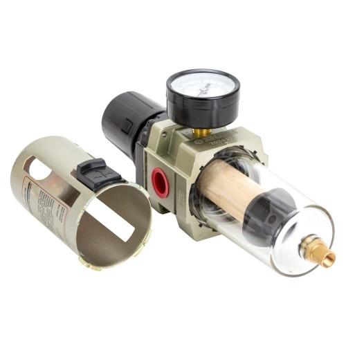 """Фильтр-влагоотделитель с редуктором и манометром 4000л/мин ½"""" Sigma Refine (7034171)"""