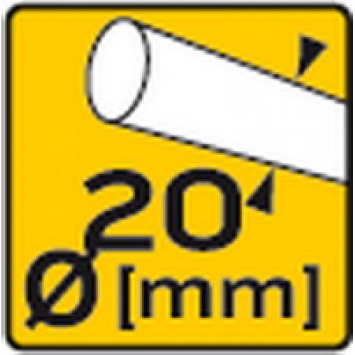 Плиткорез 600 мм с алюминиевым основанием, двойные трубчатые направляющие 20 мм, шарикоподшипники, нож 22 x 6 x 2 мм TOPEX